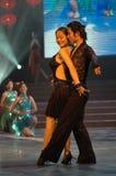 Het Latijnse dans-2007 Jiangxi Feest van het de Lentefestival Stock Foto's