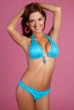 Het Latijnse Meisje van de Bikini Royalty-vrije Stock Fotografie