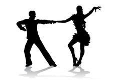 Het Latino dansen royalty-vrije illustratie