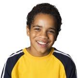 Het Latino jongen lachen Stock Foto's
