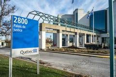 Het Laval-gerechtsgebouw Stock Afbeeldingen