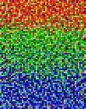 Het lawaai van de regenboog royalty-vrije illustratie