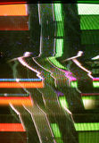 Het lawaai van TV Stock Afbeeldingen
