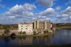 Het Leeds kasteel in Engeland Stock Foto's