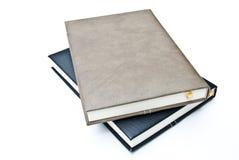 Het leer van het notitieboekje Stock Afbeeldingen