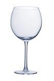 Het lege glas van de wijn Stock Afbeelding