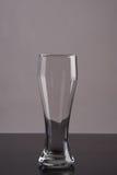 Het lege Glas van het Bier Stock Afbeelding