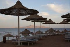 Het lege hotel van Egypte Sharm royalty-vrije stock foto's