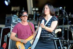 Het lege Koninkrijk (band) presteert bij FIB Festival Stock Afbeeldingen