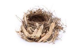 Het lege Nest van de Vogel Royalty-vrije Stock Afbeelding