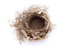 Het lege Nest van de Vogel Royalty-vrije Stock Foto's