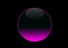 Het lege roze neon van de knoop Royalty-vrije Stock Afbeeldingen