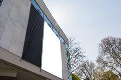 Het lege Stedelijke Milieu Stuttgart Geramny Openbare B van de Advertentie Ruimtestad stock afbeeldingen
