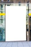 Het lege Stedelijke Milieu Stuttgart Geramny Openbare B van de Advertentie Ruimtestad royalty-vrije stock foto's