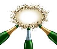 Het Lege Teken van de viering Stock Fotografie