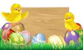 Het lege Teken van Pasen vector illustratie