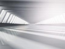 Het lege witte open plek 3D teruggeven Stock Foto
