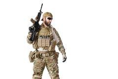 Het Leger Groene Baret van de V.S. Stock Afbeelding