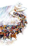 Het leger van de fee royalty-vrije illustratie