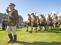 Het leger van de tweede wereldoorlog. Royalty-vrije Stock Fotografie