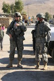 Het Leger van de V.S. in Irak Royalty-vrije Stock Foto's