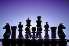 Het leger van het schaak royalty-vrije stock foto