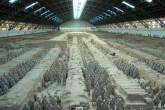 Het leger van het terracotta Stock Afbeeldingen