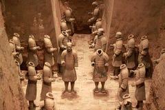 Het leger van het terracotta Royalty-vrije Stock Foto's