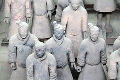 Het leger van het terracotta Stock Foto's