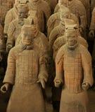 Het Leger van het Terracotta van Xi'An royalty-vrije stock foto's