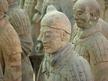 Het Leger van het Terracotta van Xi'an Royalty-vrije Stock Afbeeldingen