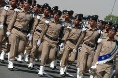 Het Leger van Koeweit toont Stock Afbeeldingen