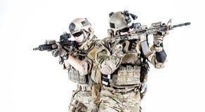 Het legerbereden politie van de V.S. stock foto's