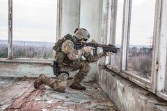 Het Legerboswachter van Verenigde Staten stock fotografie