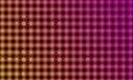 Het LEIDENE schermmonitor van TV, de digitale achtergrond van de diode lichte textuur Vector videomuur geleide TV-vertoning, het  stock illustratie