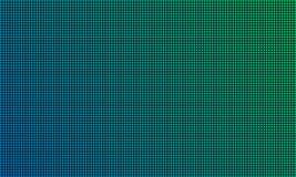 Het LEIDENE schermmonitor van TV met achtergrond van de diode de lichte textuur De vector videovertoning van muur digitale geleid stock illustratie