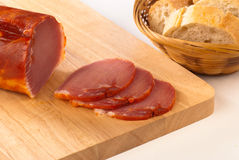 Het lendestuk van het varkensvlees royalty-vrije stock foto