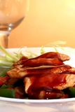 Het lendestuk van het varkensvlees Stock Fotografie