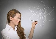 Het leren fysicawetenschap royalty-vrije stock afbeelding