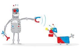 Het leren Kunstmatige intelligentie vector illustratie