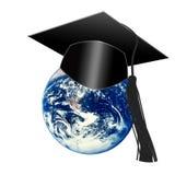 Het leren planeet royalty-vrije illustratie