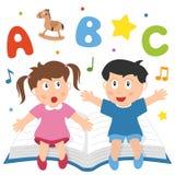 Het leren is Pret royalty-vrije illustratie