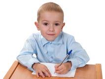 Het leren van het kind Stock Afbeelding