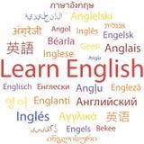 Het lerende Engels stock illustratie
