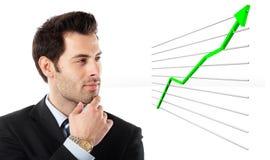 Het letten op de dingen groeien Royalty-vrije Stock Foto