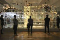 Het letten op LUF tentoonstelling Royalty-vrije Stock Foto's
