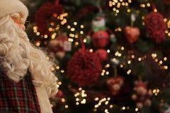 Het letten op van de kerstman Royalty-vrije Stock Fotografie