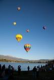 Het letten van de op ballons Royalty-vrije Stock Foto's