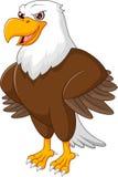 Het leuke Eagle-beeldverhaal stellen stock illustratie