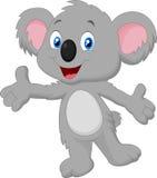 Het leuke koalabeeldverhaal stellen royalty-vrije illustratie